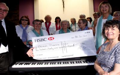 Donation to Erewash Phoenix Choir